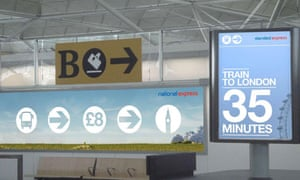 ASA ban Stansted Express advert