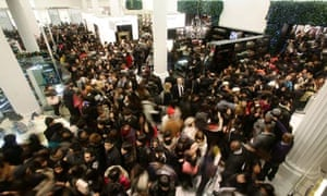 Shoppers hit sales before VAT hike