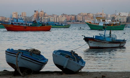 The Eastern Harbour, Alexandria.