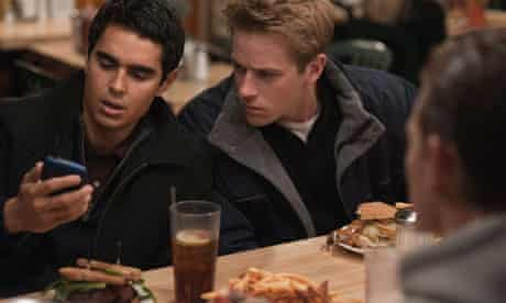 Max Minghella and Armie Hammer in the social network