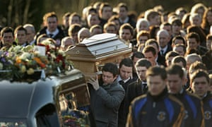 Michaela McAreavey's coffin