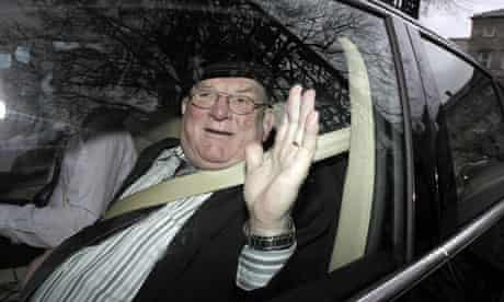 Independent TD Jackie Healy-Rae leaving Leinster House in Dublin