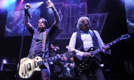 Thin Lizzy Perform At Southampton Guildhall