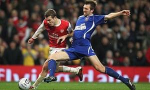 Jack Wilshere, Gareth McAuley, Arsenal, Ipswich, Carling Cup