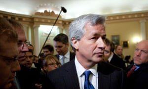Jamie Dimon, chairman, president and chief executive officer of JP Morgan