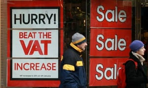 Shoppers And Businesses Prepare For VAT Rise