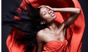 Model Natasha Ndlovu photographed by Rankin