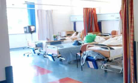 NHS hospital beds