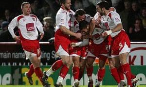 Michael Bostwick, Stevenage, Newcastle United, FA Cup