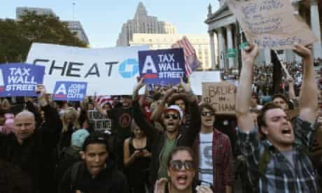occupy wall street protesters shout their anger michael lewis interview