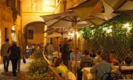 Eating out in Rome