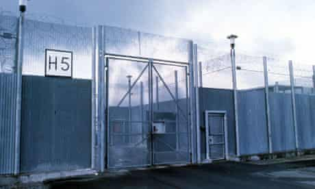 Maze prison entrance