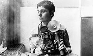 Diane Arbus in New York circa 1968.
