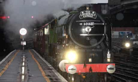 railway station steam train notes and queries