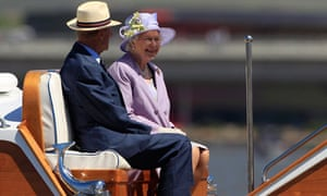 Queen Elizabeth II and Prince Philip in Australia