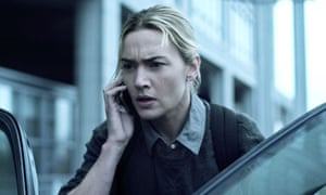 Kate Winslet in a scene from Contagion