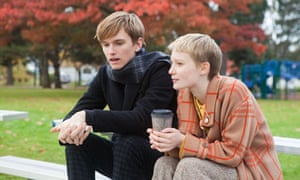 Henry Hopper and Mia Wasikowska in Restless.