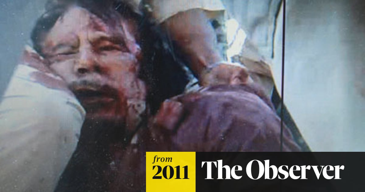 Gaddafi's last words as he begged for mercy: 'What did I do to you