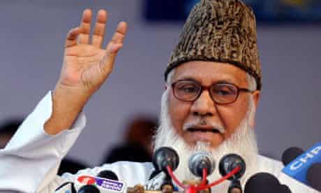 Matiur Rahman Nizami chief of the Jamaat-e-Islami