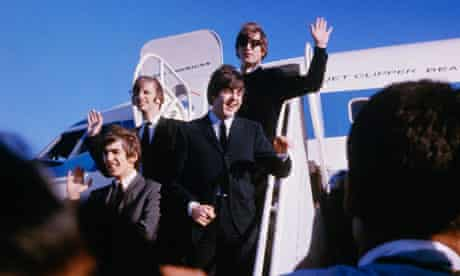 The Beatles Arriving in San Francisco