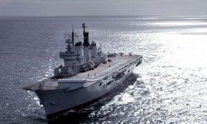 HMS Illustrious ian jack the navy cutbacks