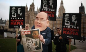 James Murdoch gives evidence to MPs