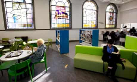 Carnegie library, Blackpool