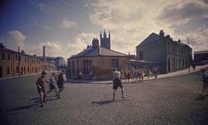 Boys playing, Dublin