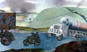 An English Country Scene, No 2, by Edward Burra