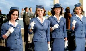 Christina Ricci, Kelli Garner, Karine Vanasse and Margot Robbie in Pan Am
