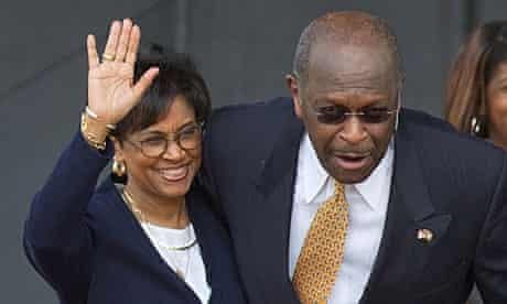 Herman Cain, Gloria Cain