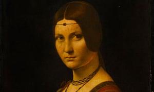 La Belle Ferronnière by Leonardo da Vinci