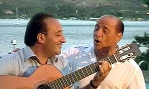 ITALY-BERLUSCONI-SONG