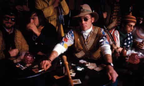 A still from the documentary film Gonzo: The Life and Work of Dr Hunter S Thompson