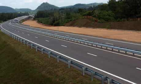 First new motorway in Sri Lanka near to completion