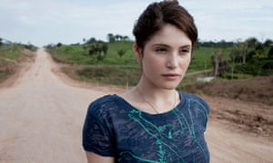 Gemma Arterton in Brazil with Sky Rainforest Rescue