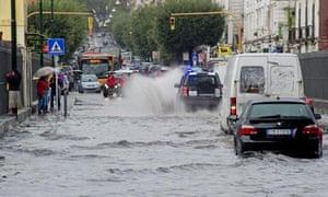 Floods in Naples