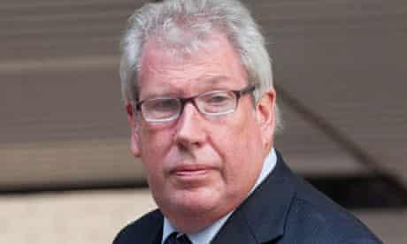 Former Labour MP Elliot Morley at Southwark Crown Court