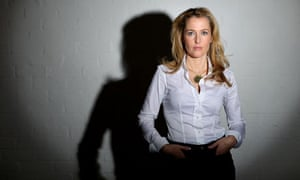 Gillian Anderson for Saturday interview