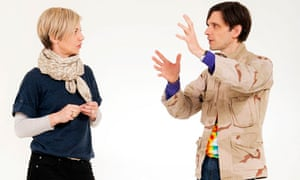 Miranda Sawyer and Jeremy Deller discussing the Turner Prize.