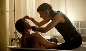 Daniel Craig and Rooney Mara in The Girl With the DragonTattoo.