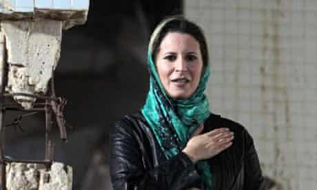 Gaddafi family members fled to Algeria