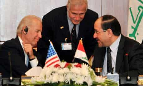 US Vice President Joe Biden visits Iraq