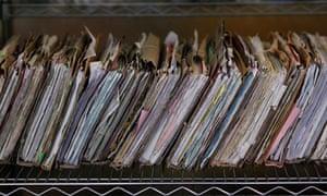 NHS patient records
