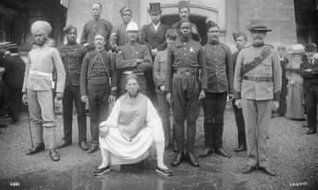 Colonial troops of the British empire