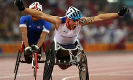 Dave weir victory at Beijing Paralympic Games