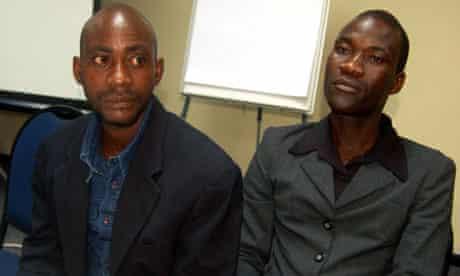 Tiwonge Chimbalanga (R), and his gay hus