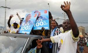Joseph Kabila supporters