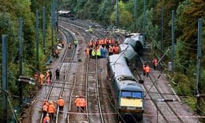 Hatfield train crash