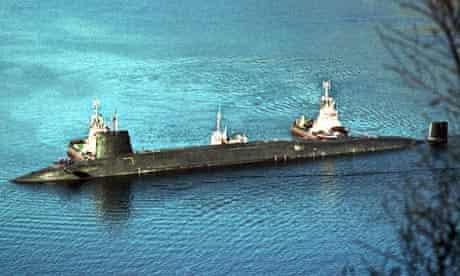 nuclear submarine HMS Vengeance